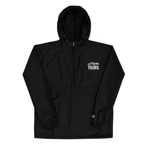 JPF X Champion Packable Jacket (White Logo)