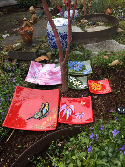Flora and Fauna Garden Dishes