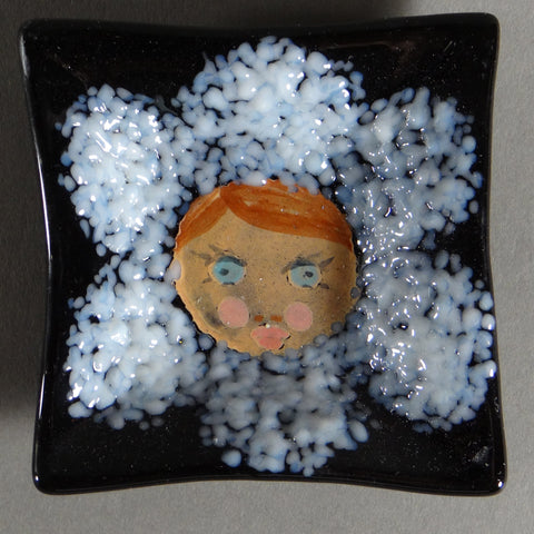 Flower Face 3 Inch Dish