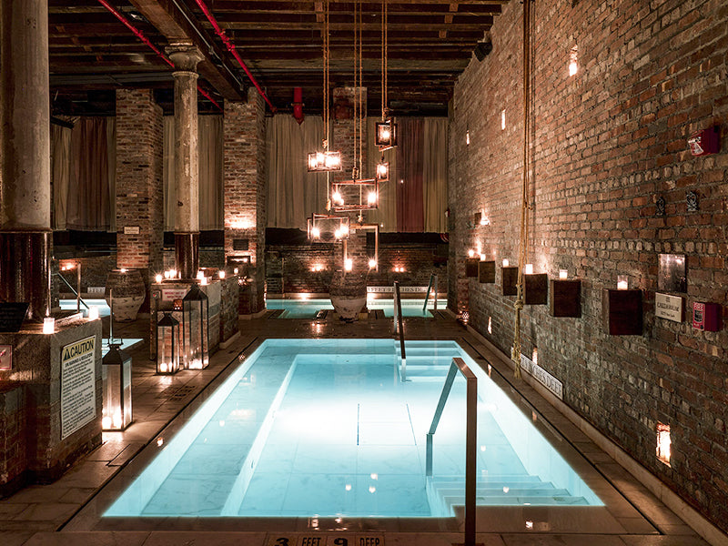 Total Relaxation at Aire Ancient Thermal Baths, NYC