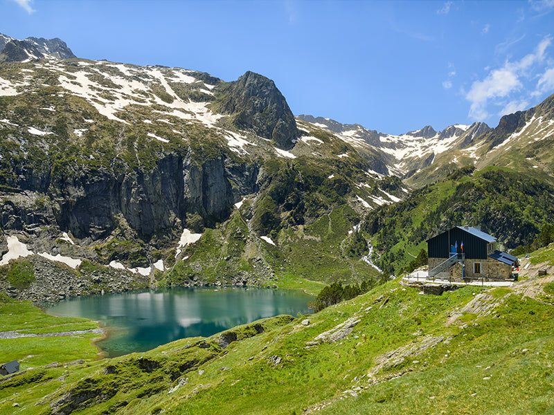 A Gorgeous Stop for Hikers in the Pyrenees