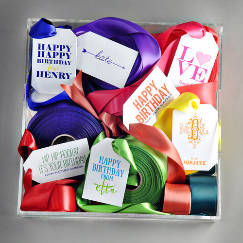 Letterpress Gift Tags - Style T6