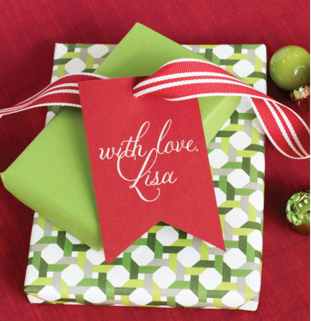 Christmas Tags - With Love,