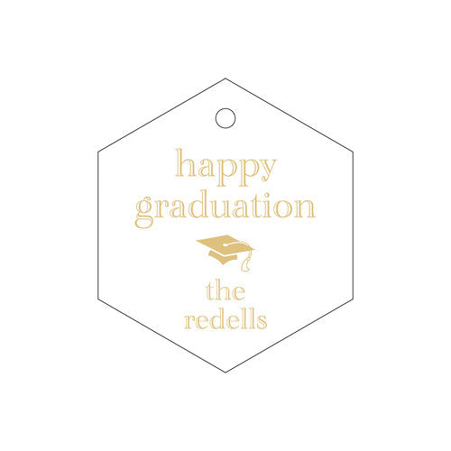 Personalized Grad Tags - Design T244