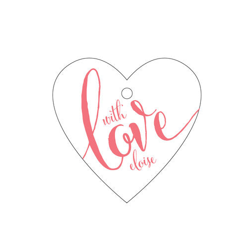 Personalized Love Tags - Design T258