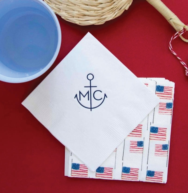 50 Custom Cocktail Napkins