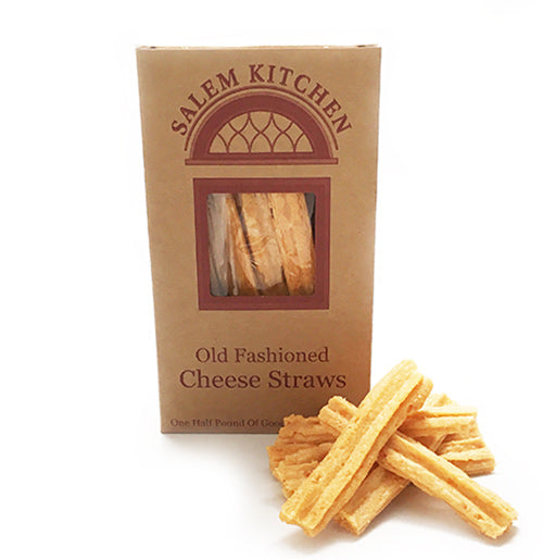 Picture of our popular cheese straws from Salem Kitchen