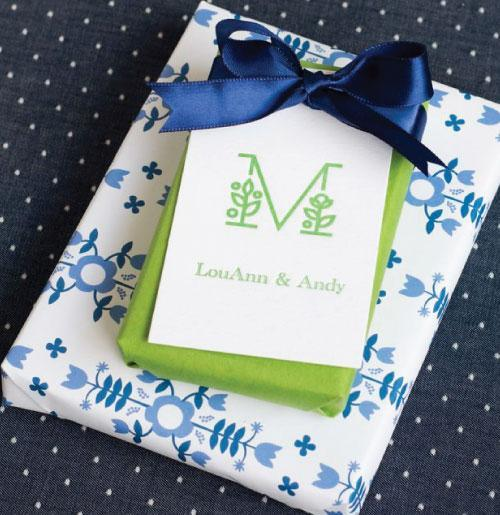Letterpress Gift Tags - Style TCustom200