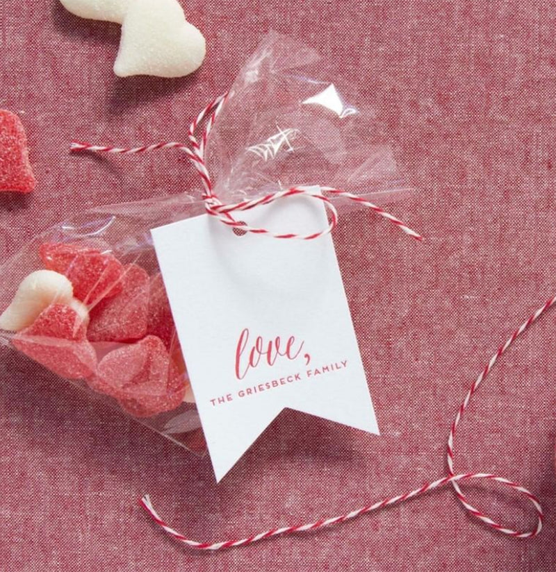 Set of 25 Love Gift Tags