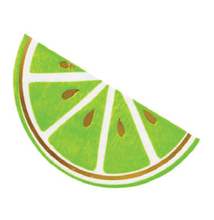 Lime Die-Cut Party Napkins - 20 Count