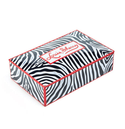 12-piece Chocolate Tin - Miles Redd Zebra