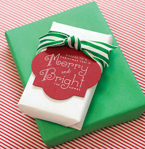 50 Merry and Bright Gift Tags