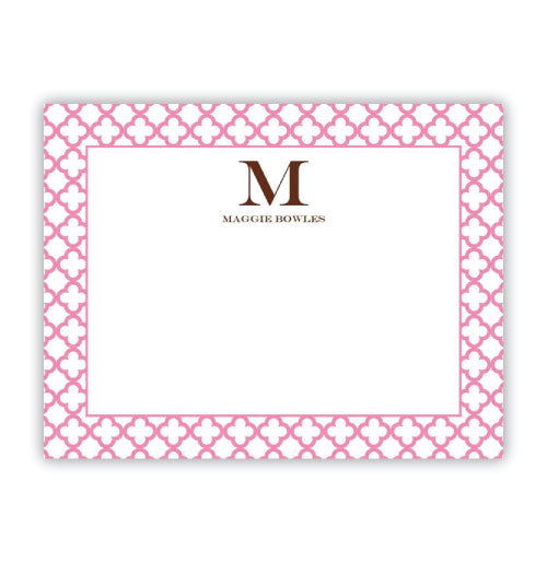 25 Personalized Note Cards- Boatman Geller 22215