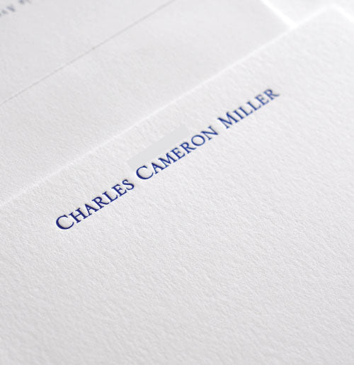 50 Letterpress Cards for Men