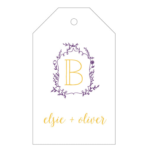 Letterpress Gift Tags - Design T54