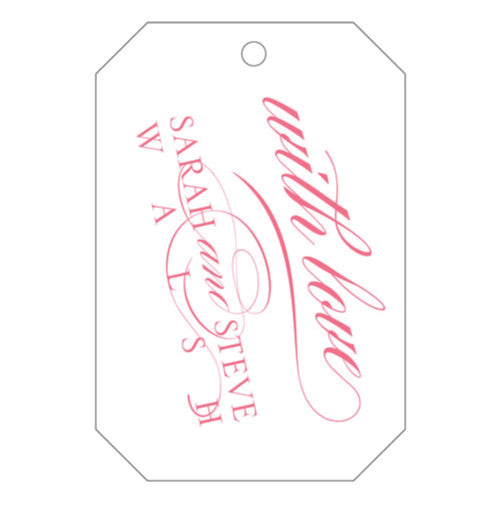 Letterpress Gift Tags - Design T49