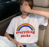 Everything Sucks Rainbow Tee