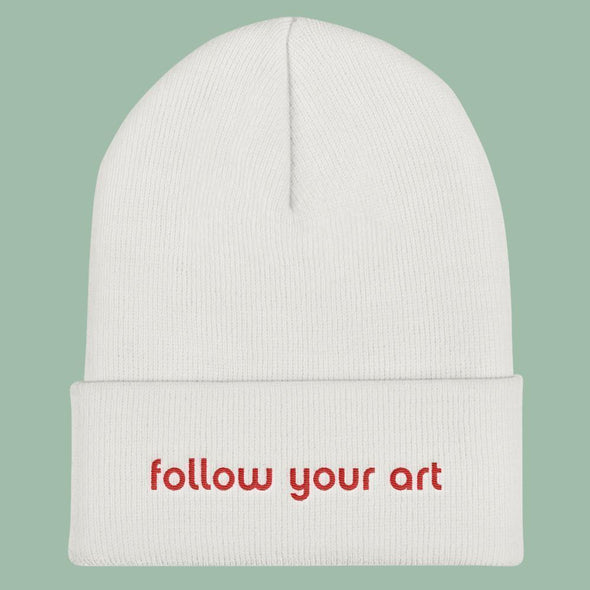 Follow You Art Beanie