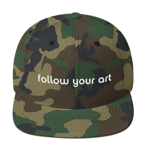 Follow Your Art Snapback Hat