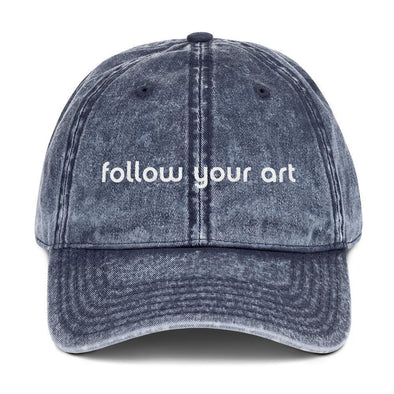 Follow Your Art Vintage Cap