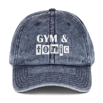 Gym And Tonic Vintage Cap