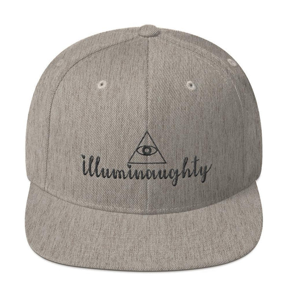 Illuminaughty Snapback Hat