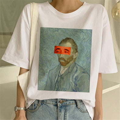 Van Gogh Oil Art T-shirt