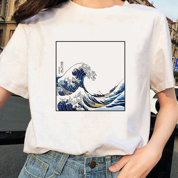 Wave Aesthetic Tee