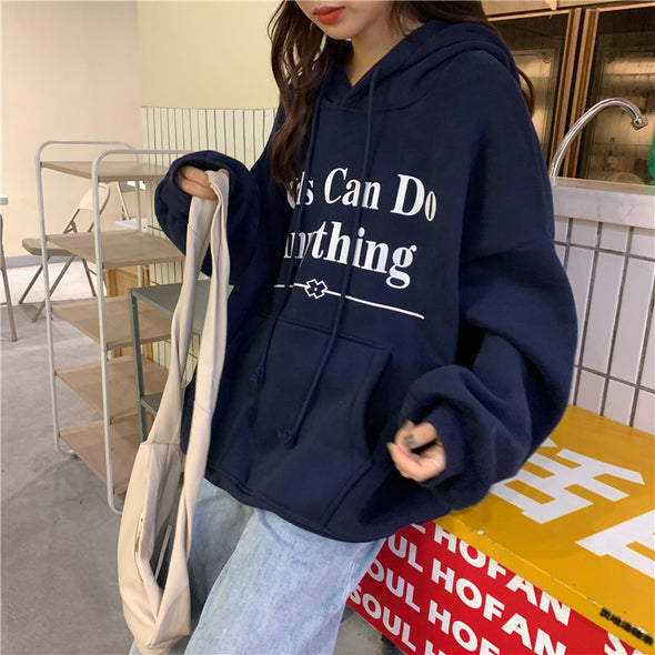Girls Can Do Anything Hoodie