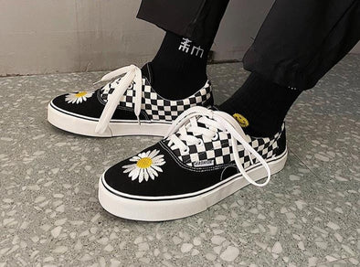 Flower Canvas Shoes