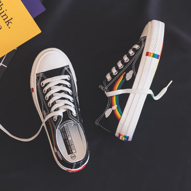 Rainbow Casual Low Sneakers