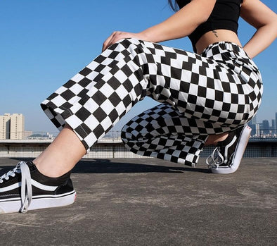 Checkered Sweatpants
