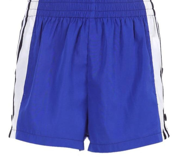 Button Split Shorts