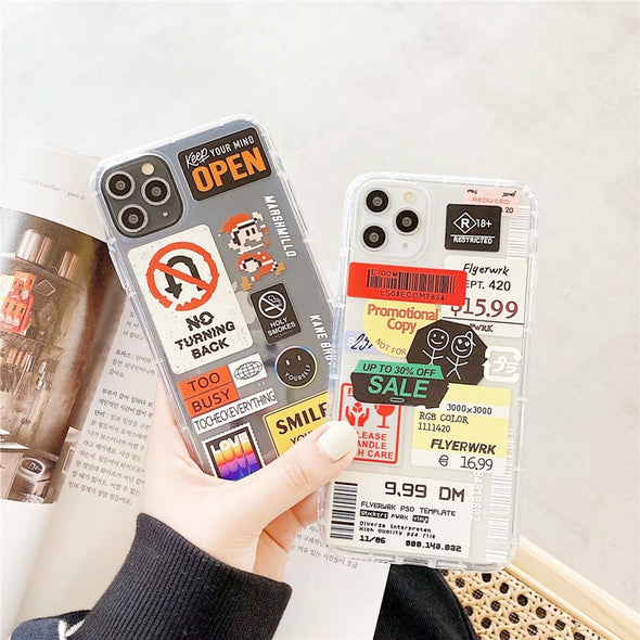 Retro Bar Code Phone Case