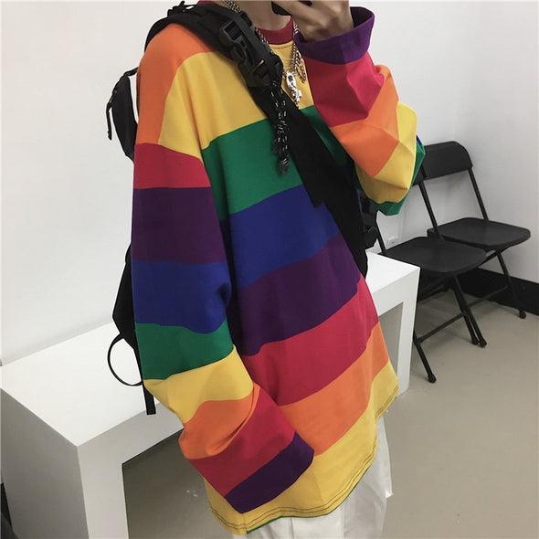Rainbow Long Sleeve Shirt