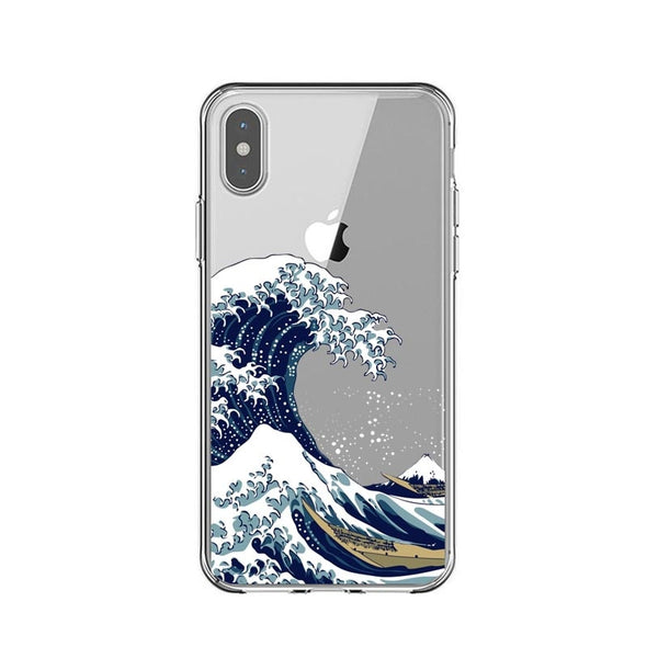 The Great Wave off Kanagawa Phone Case