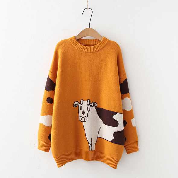 Cows Sweater