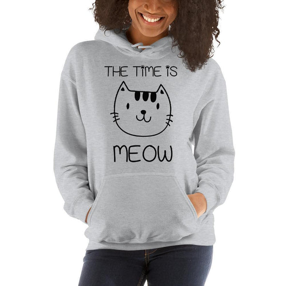 The Time Is Meow Hoodie