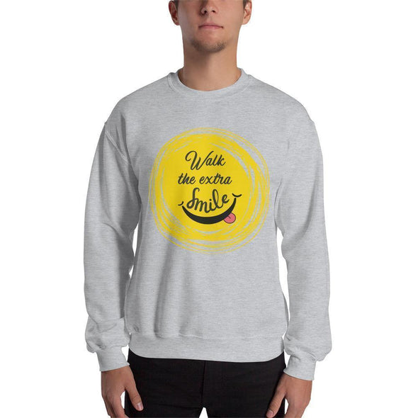Walk The Extra Smile Sweatshirt