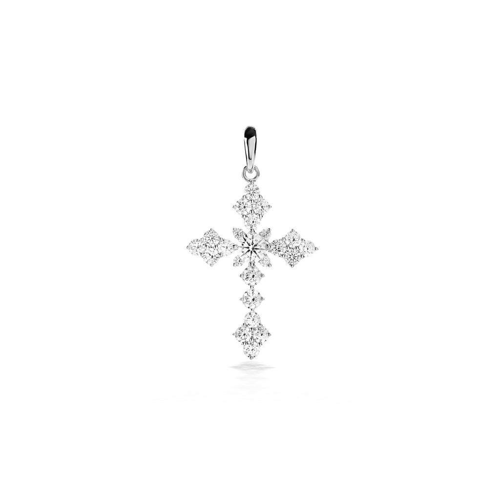 Agape Cross Diamond Pendant (P1811010038)