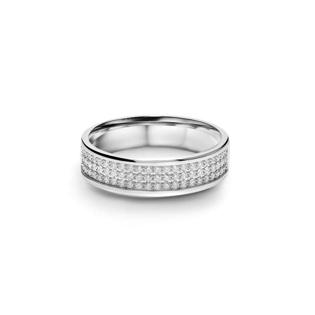 Aaron Diamond Ring (T1909090002)