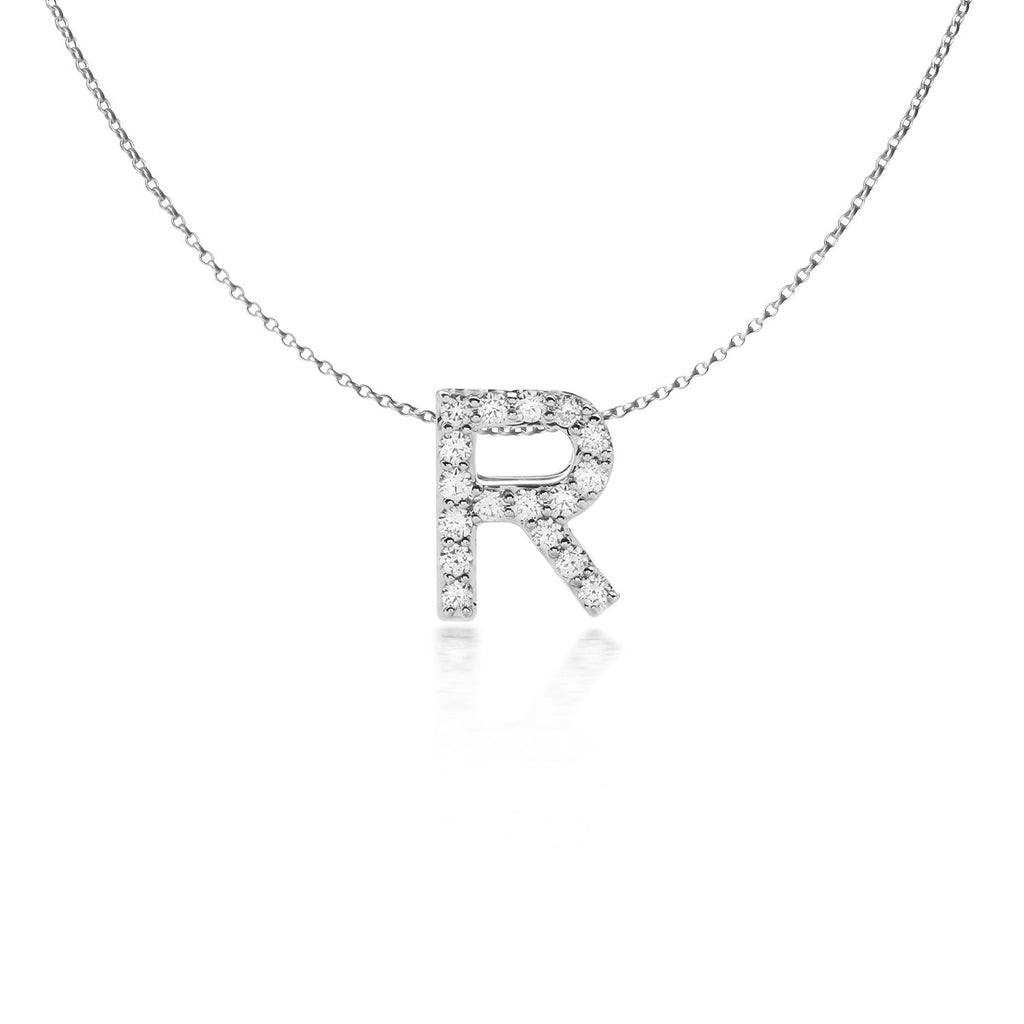 R Alphabet Necklace (P1810050014)