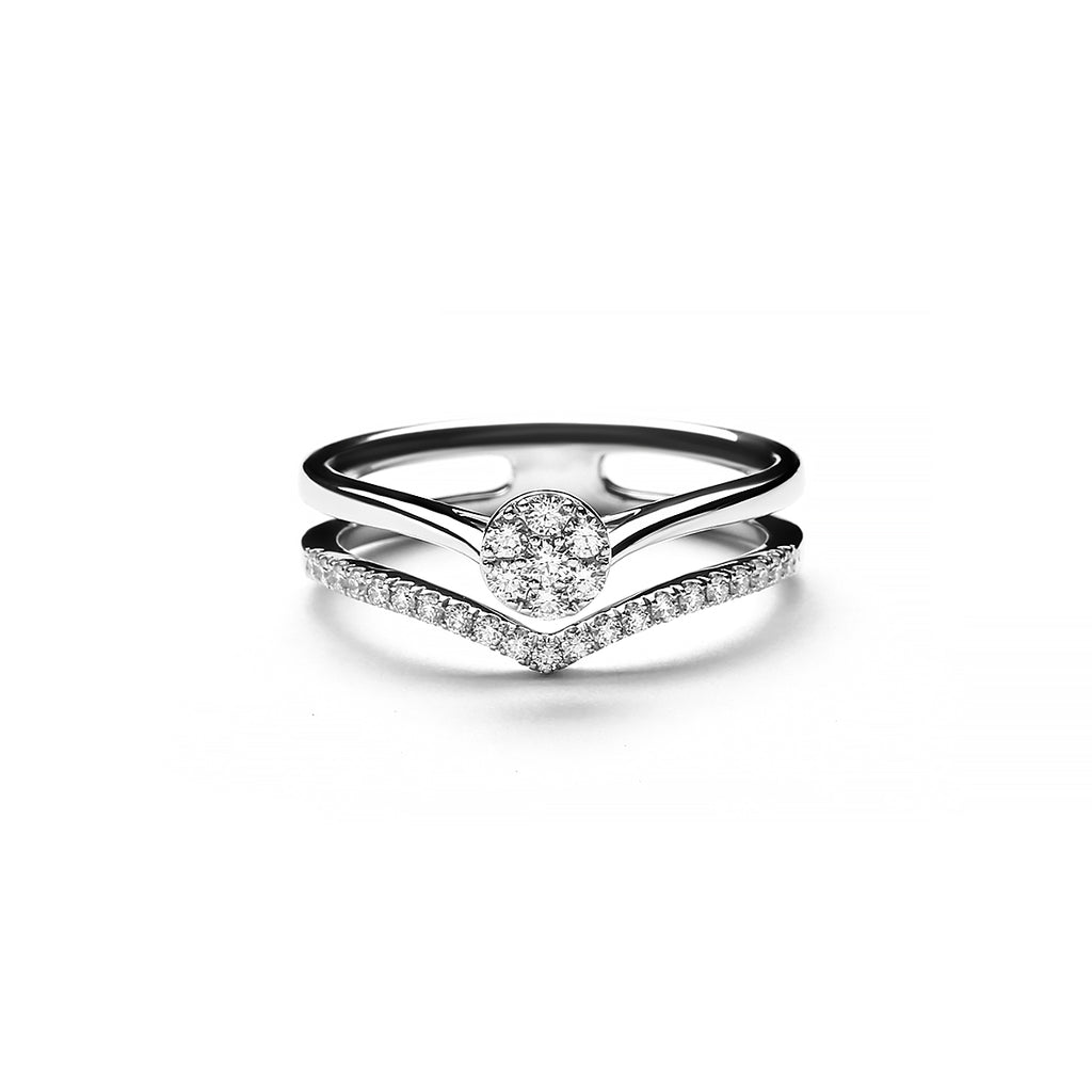 Silvana Rainbow Diamond Ring (P2003200003)