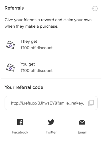 Dohful Cookies Referral Details