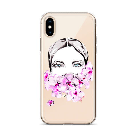 PHONE CASE: 'Pink Plumerias'