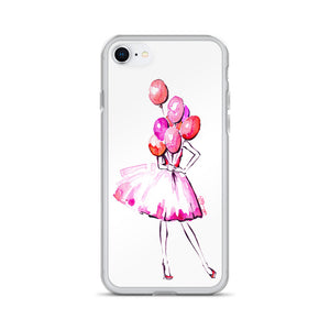 PHONE CASE: 'Pink Balloons'