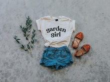 Load image into Gallery viewer, Garden Girl Organic Tee