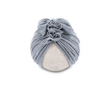 Load image into Gallery viewer, Vintage Baby Hat / Heather Grey