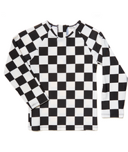 Load image into Gallery viewer, checkers swimshirt