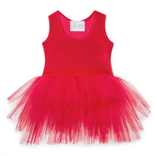 Load image into Gallery viewer, B.A.E Tutu Dress / Rosie Red